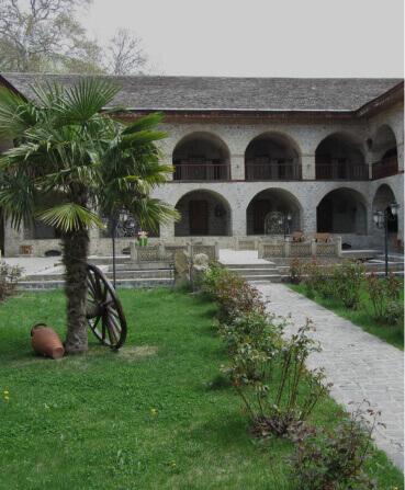 Караван-сарай в Шеки