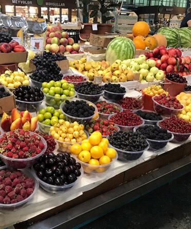 Фрукты и овощи в азербайджане